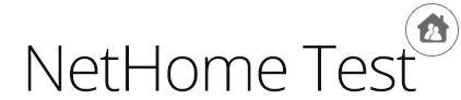 NetHome Test