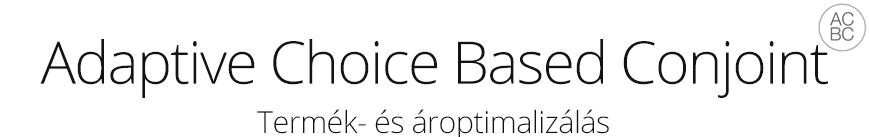 ACBC conjoint analízis