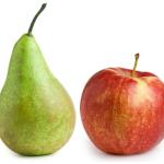 Almát a körtével
