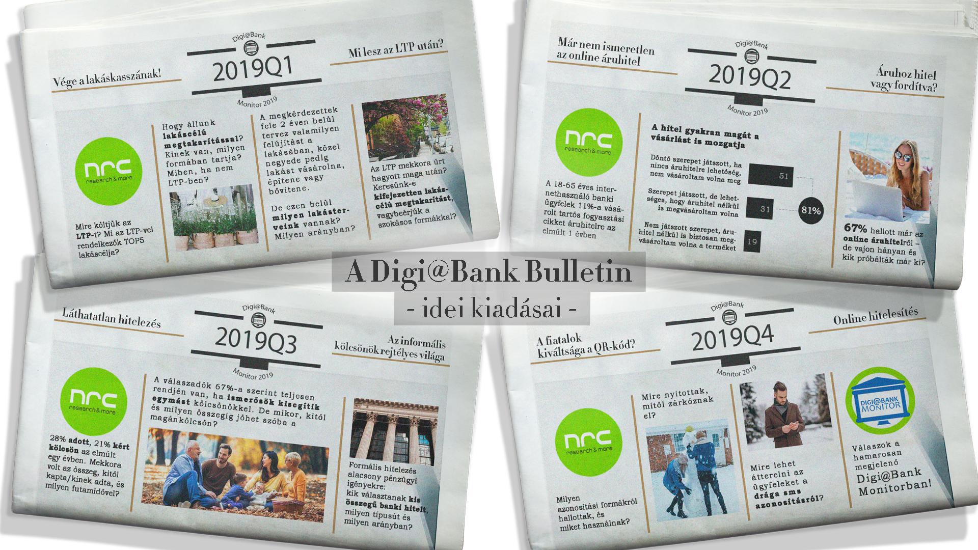 Digi@Bank Monitor: külön is megvásárolható negyedéves pénzügyi elemzéseink (DBM előfizetőknek ingyenes)