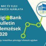 Pénzügyi elemzések – Digi@Bank Bulletin 2020